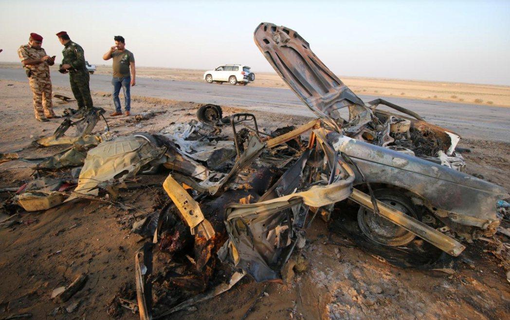 汽車炸彈客今天在伊拉克南部城市奈西利雅(Nasiriyah)接連發動攻擊,造成至...