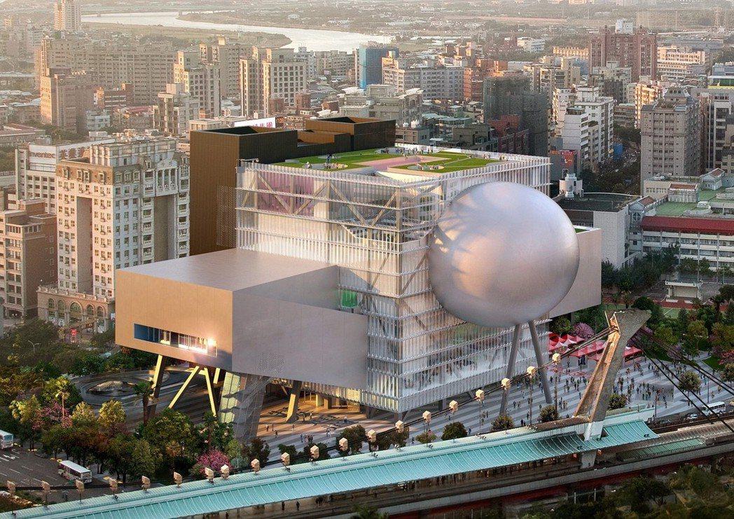 臺北表演藝術中心。