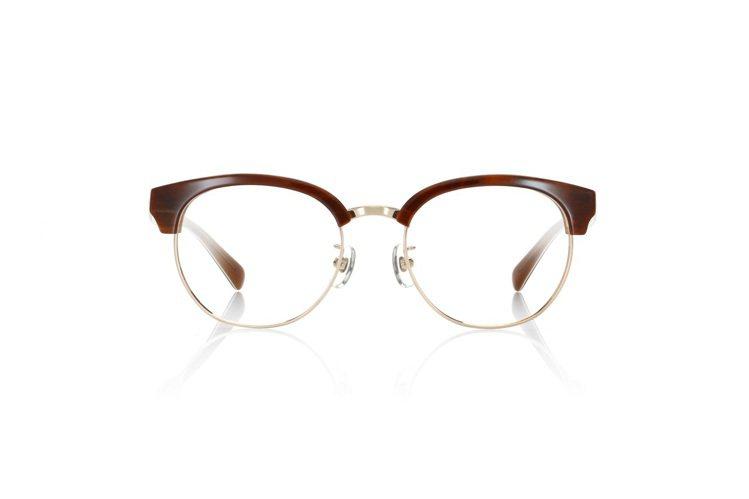 50年代的眉型框,據說是為了眉毛稀少的將軍增加威嚴感而設計的,約2,980元。圖...