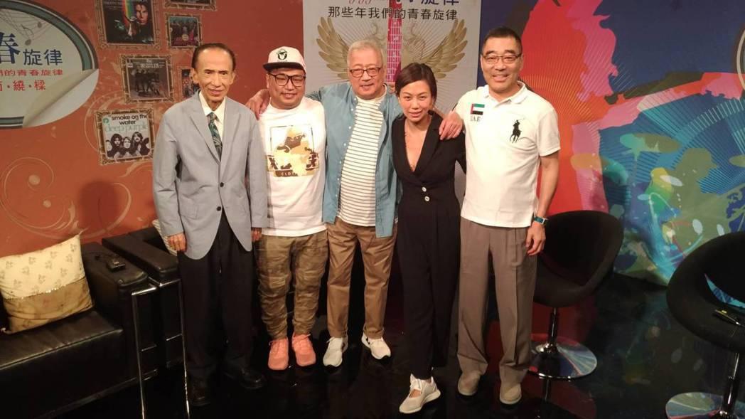 林光寧上節目兒女相隨,和王祥基(右)、徐慶復(左)老朋友相見。記者李姿瑩/攝影