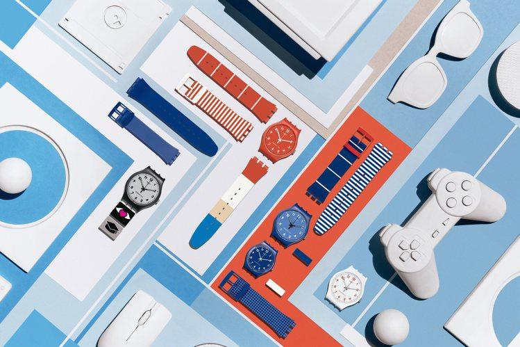 Swatch X You 訂製系列單只手表售價為2,050元(34毫米表徑)或 ...