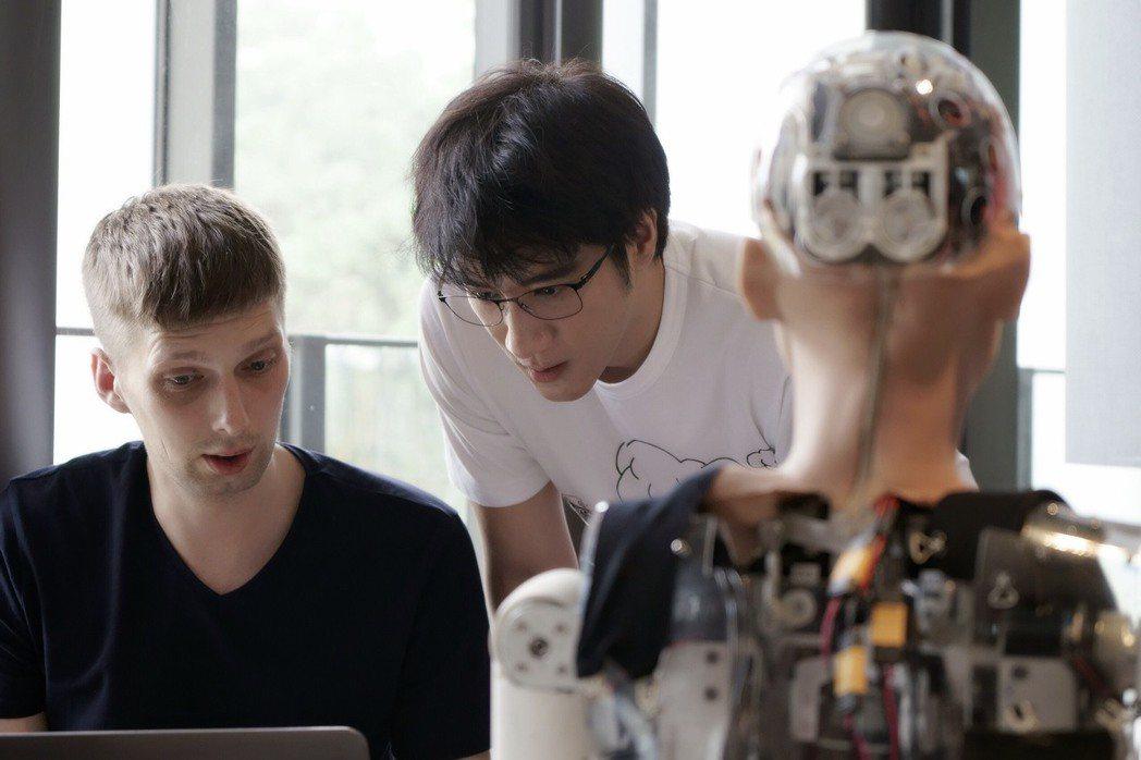 王力宏新歌採用A.I.人工智慧的概念。圖/宏聲提供