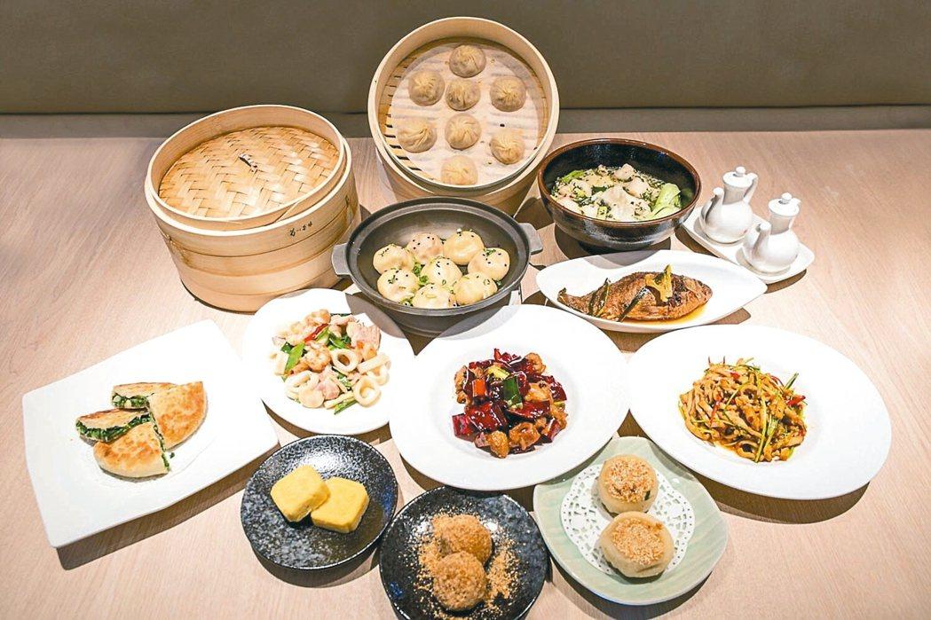 「漢來上海湯包」,除了招牌湯包,還加入了主廚私房菜。 圖/業者提供