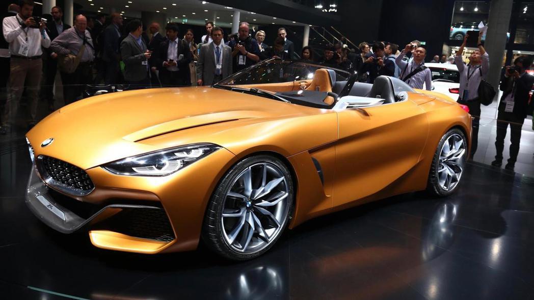 BMW Concept Z4。 摘自BMW