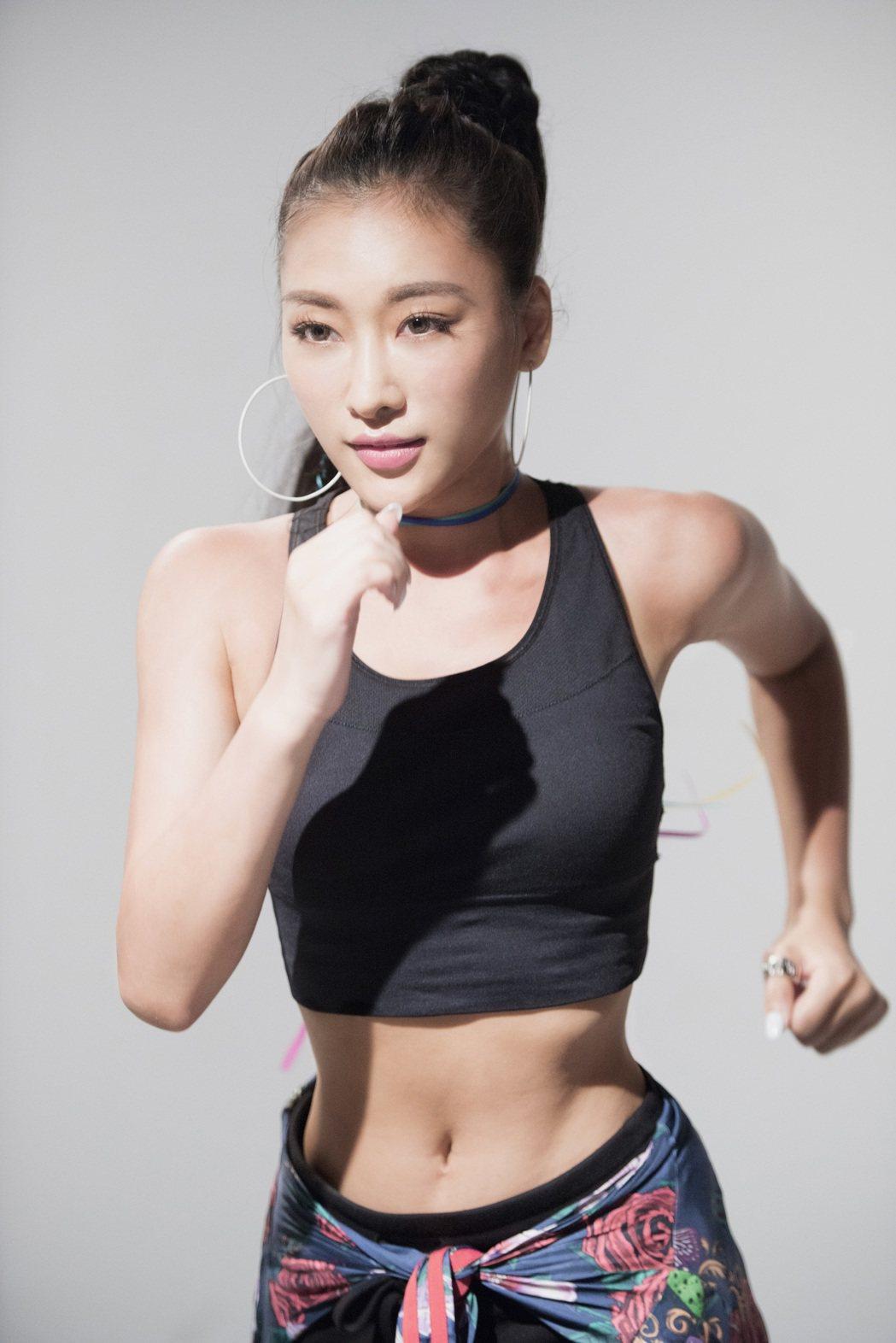 秦宇子拍MV吃盡苦頭。圖/海蝶太合音樂集團提供