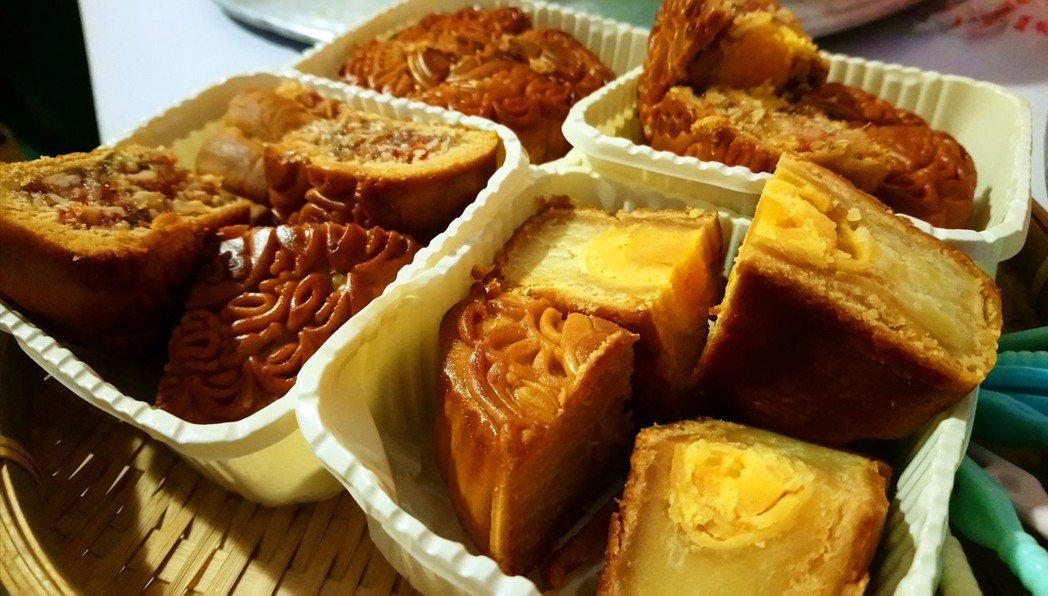 越南過中秋節也吃月餅。記者卜敏正/攝影