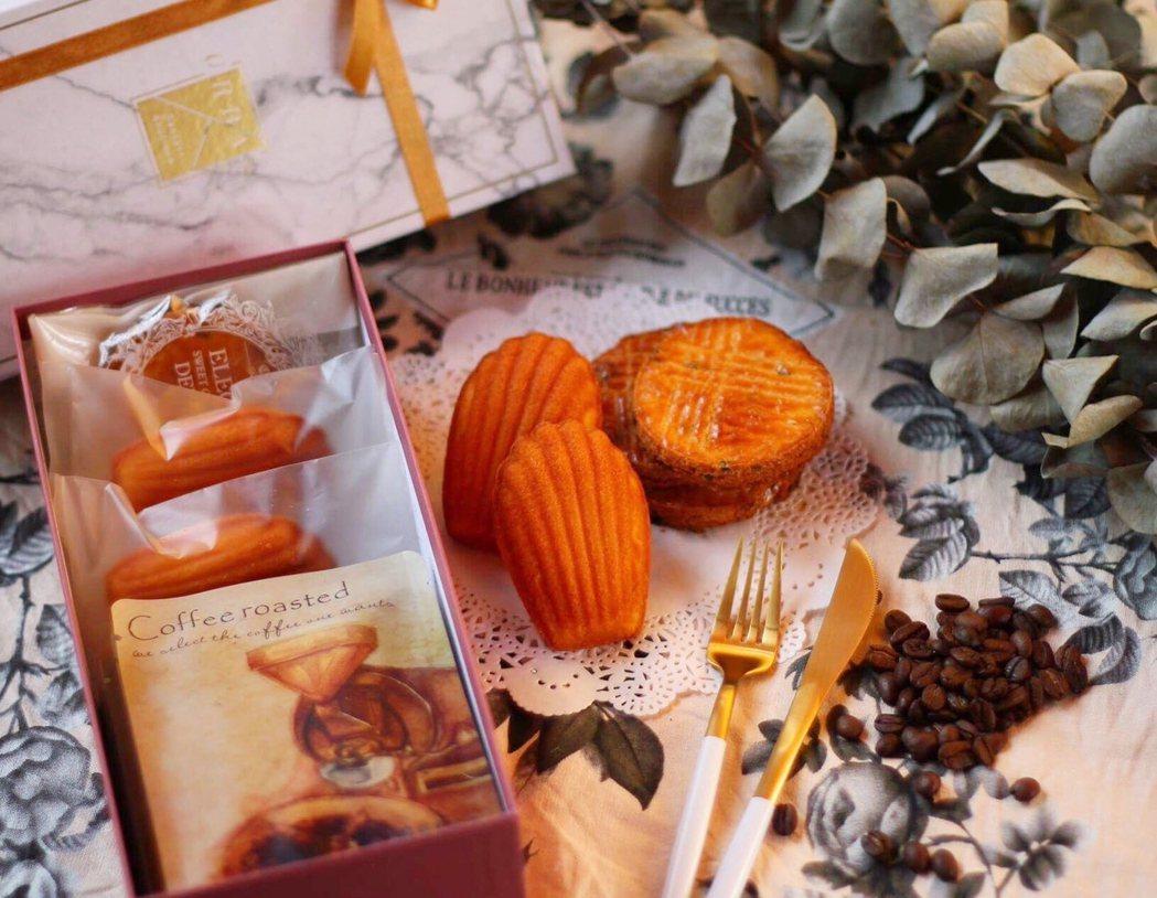 快閃吧第三周邀請在地名店瑪德琳打造經典下午茶禮盒。圖/礁溪老爺提供