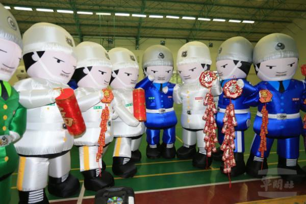國軍「人形氣偶」娃娃。圖/軍聞社資料照