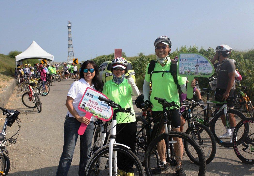 台灣自行車節吸引許多愛好自行車騎士參加。圖/雲嘉南濱海國家風景區管理處提供
