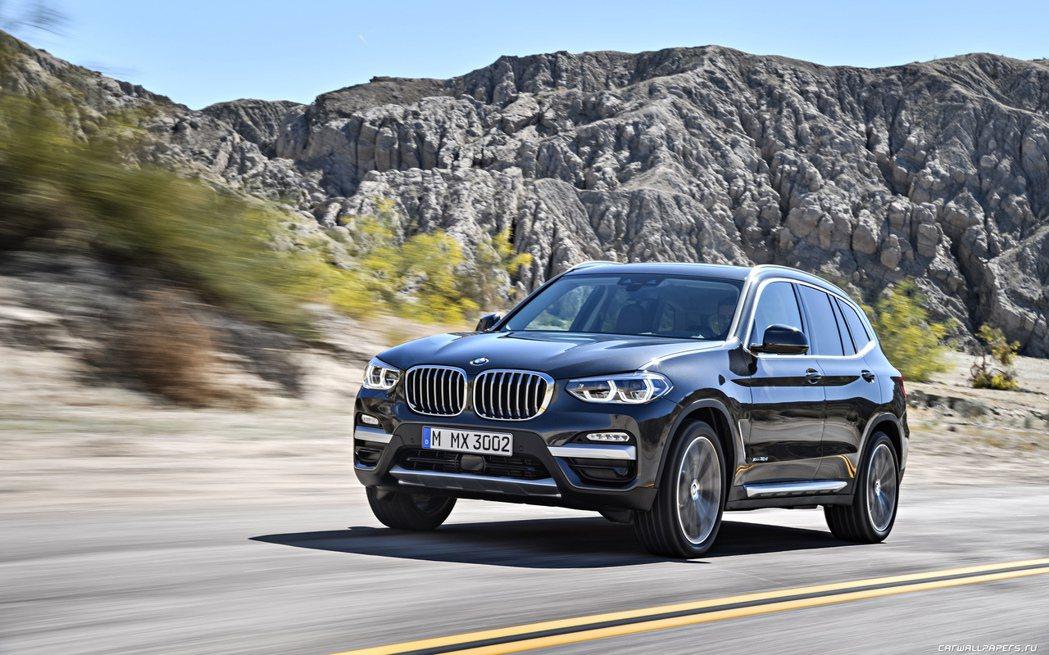 新一代BMW X3將於第四季登台。圖/BMW提供
