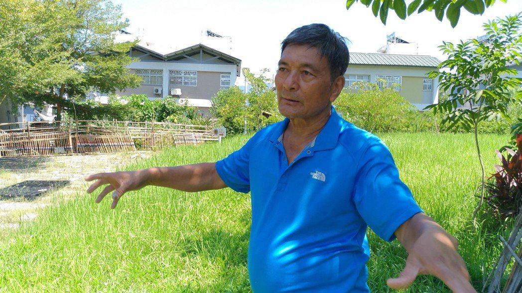 日光小林社區耆老徐大林是薑黃產業的見證者,他說早年小林村乾旱,居民就是靠賣薑黃溫...