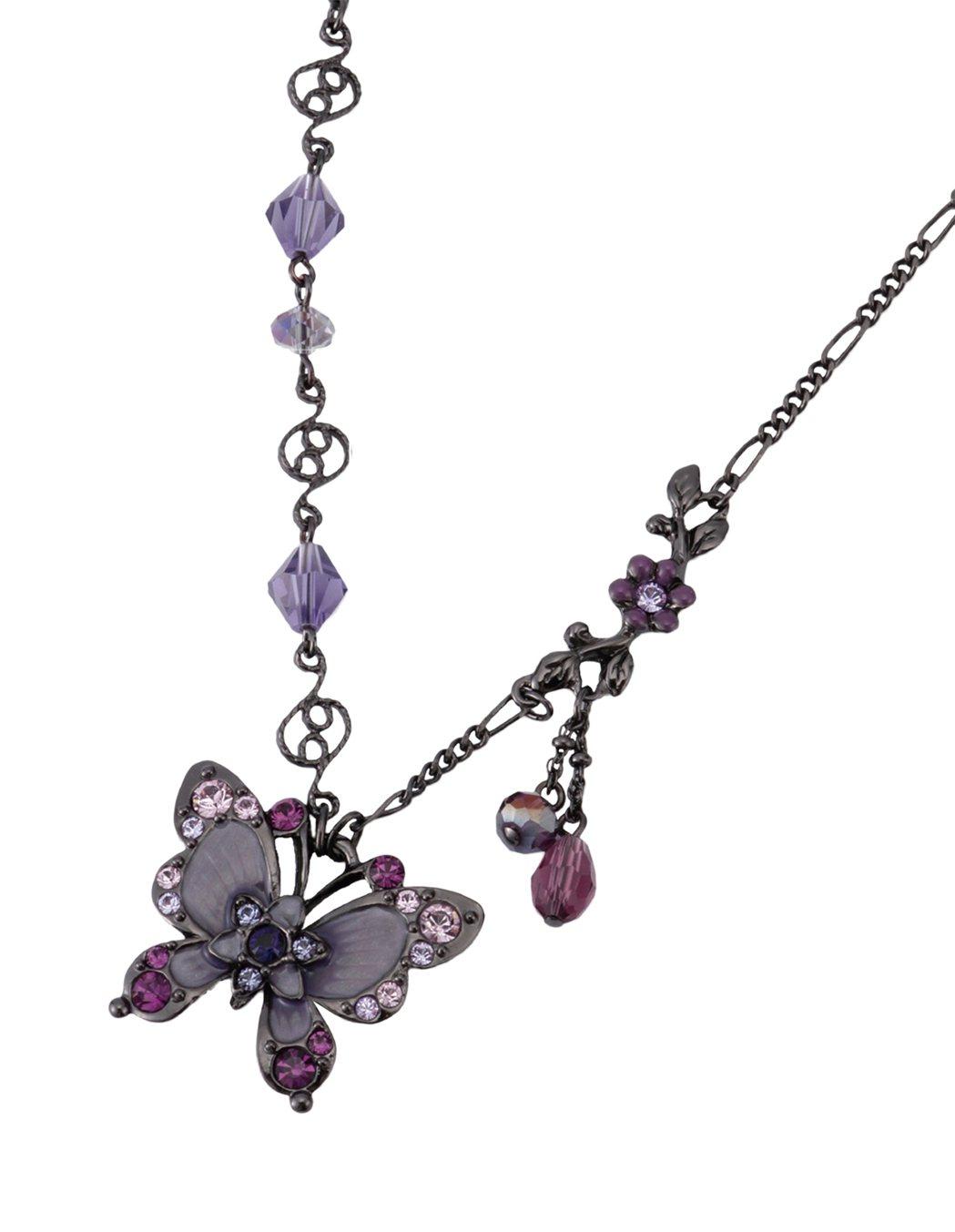 花蝶項鍊,5,080元。圖/ANNA SUI提供