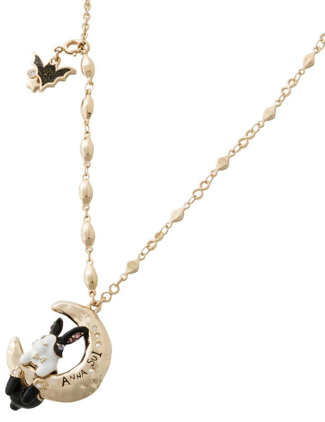 月兔項鍊,6,180元。圖/ANNA SUI提供