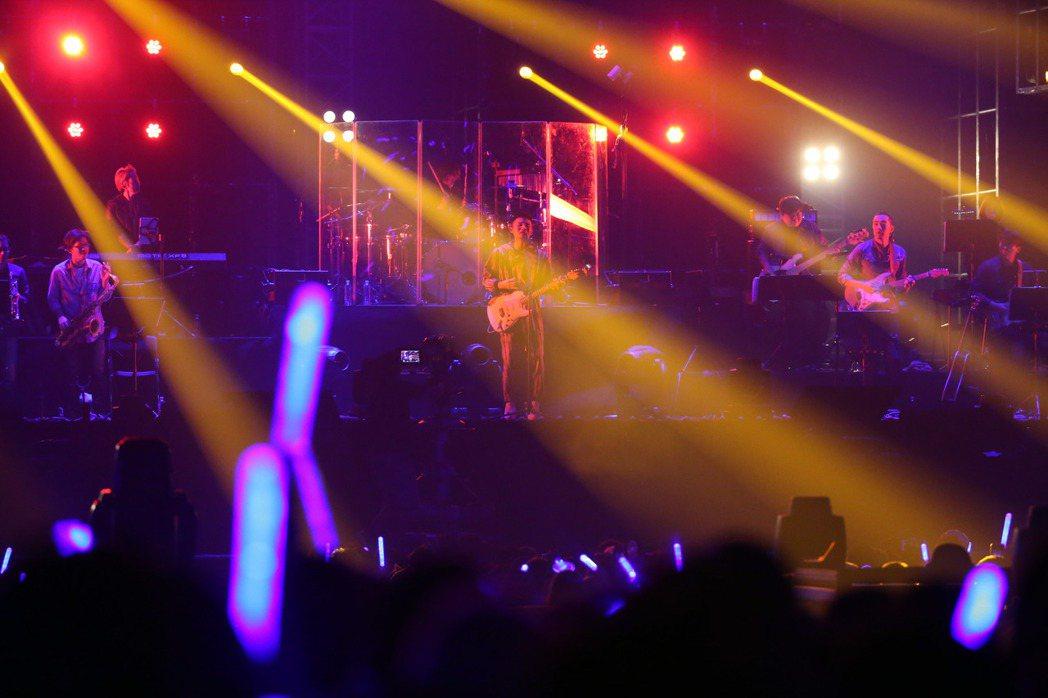 李榮浩昨天在台北小巨蛋開唱。記者陳瑞源/攝影