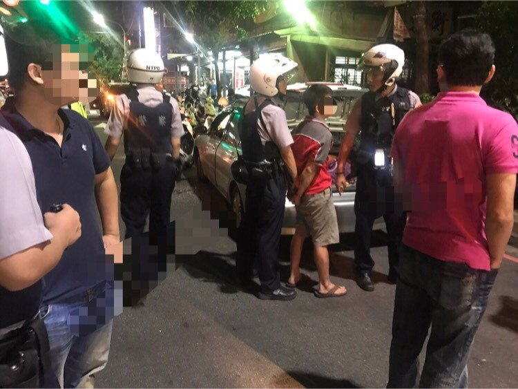 警方連開8槍後逮人。記者陳雕文/翻攝