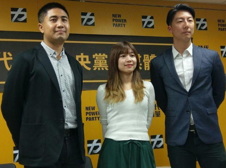 時代力量發言人李兆立(圖左)表示,縣市首長部分則會和非國民黨籍的候選人合作,「不...