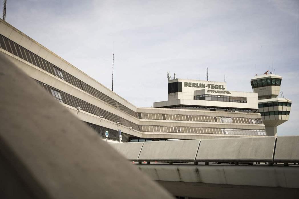 柏林特格爾機場。 (法新社)