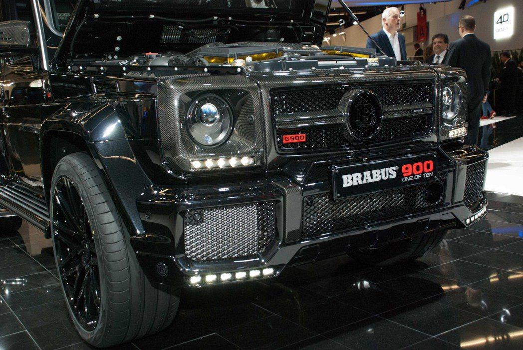 Brabus改裝一輛Mercedes-AMG G65,變身成Brabus 900...