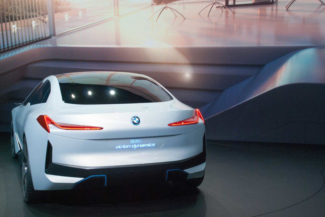 BMW i Vision Dynamic Concept。記者林昱丞/攝影