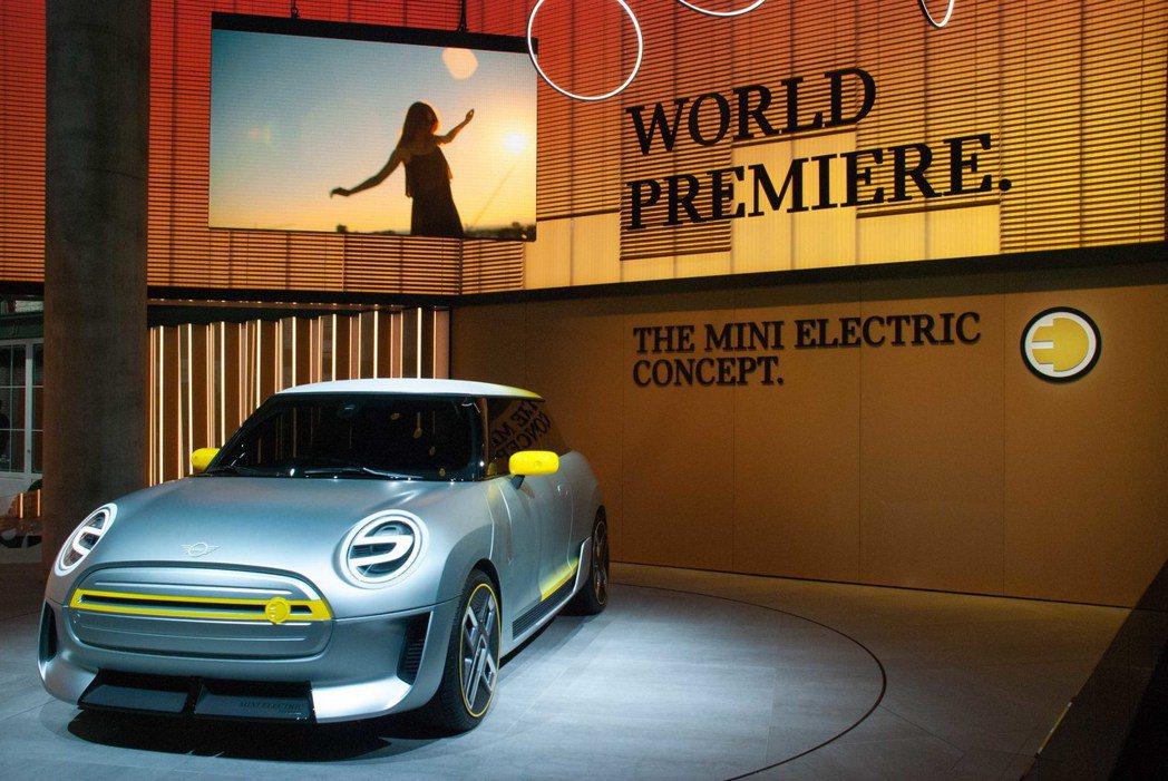 Mini Electric Concept。記者林昱丞/攝影