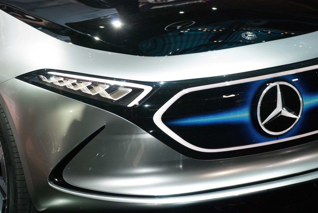 Mercedes-Benz EQ A Concept。記者林昱丞/攝影