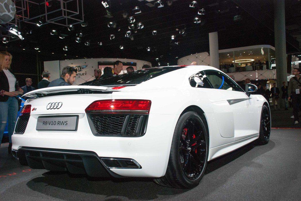 Audi R8 RWD。記者林昱丞/攝影