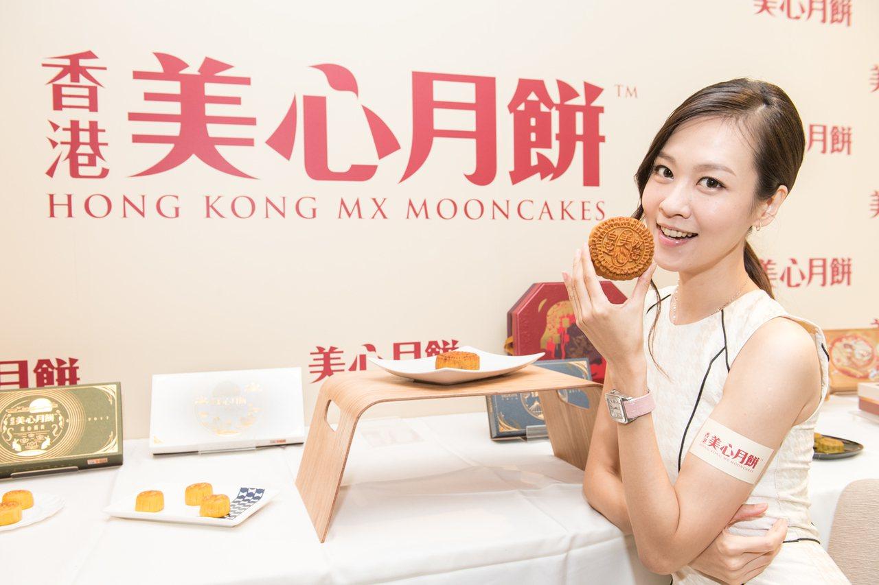 廣式月餅+流心餡!香港美心玩新招 設3D月景快閃店