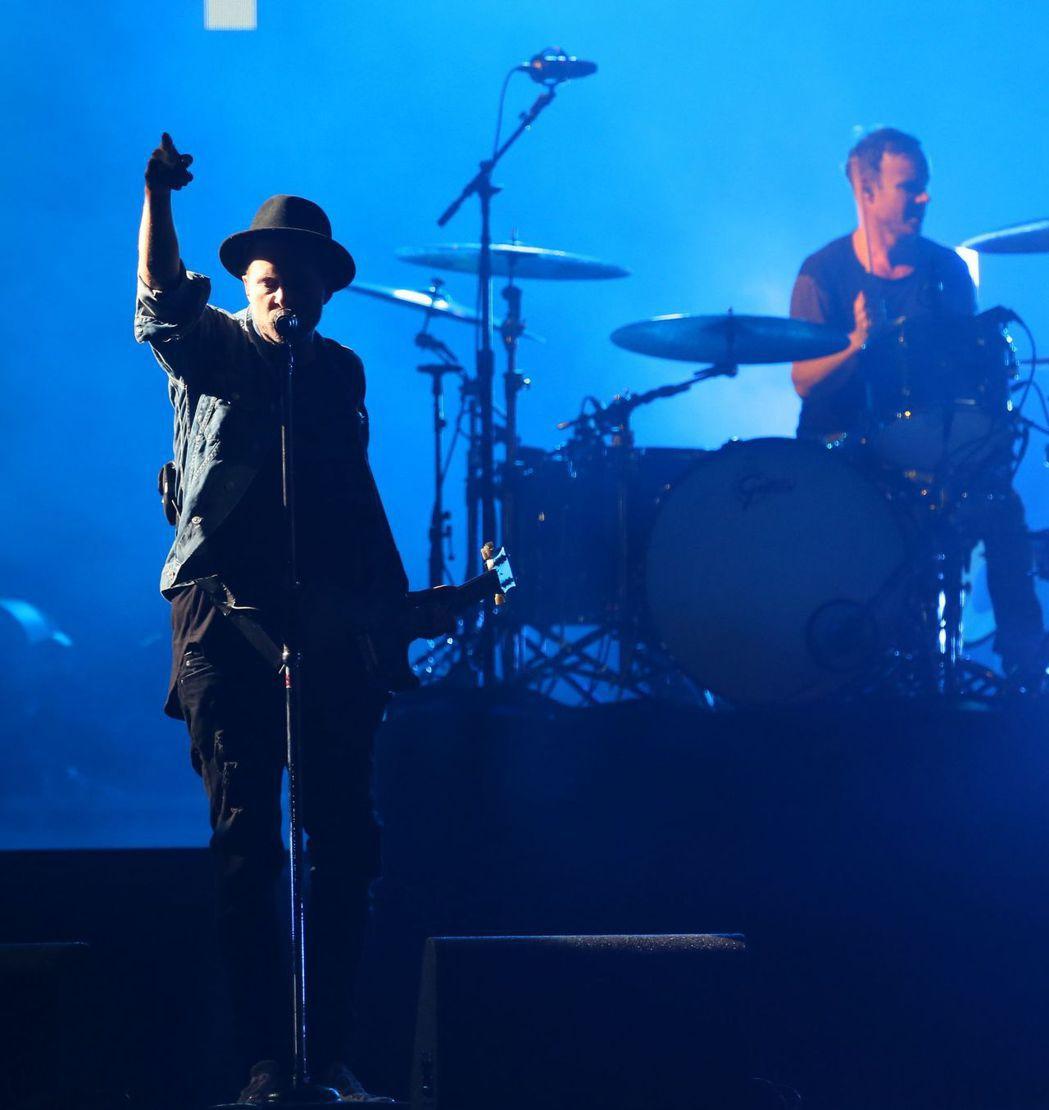 搖滾天團「共和世代」(OneRepublic)17日晚上首度來台開唱。記者陳立凱...