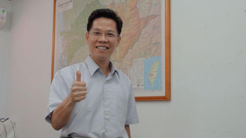 前青輔會主委李允傑爭取國民黨嘉義市長提名。記者王慧瑛/攝影