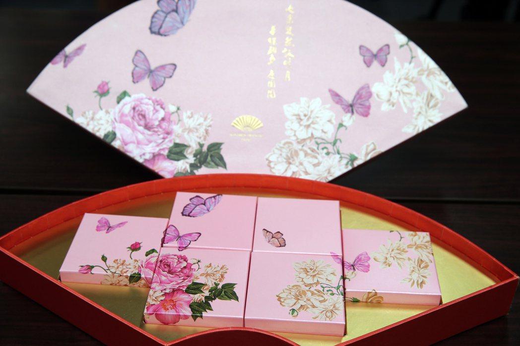 台北文華東方酒店月餅。記者徐兆玄/攝影