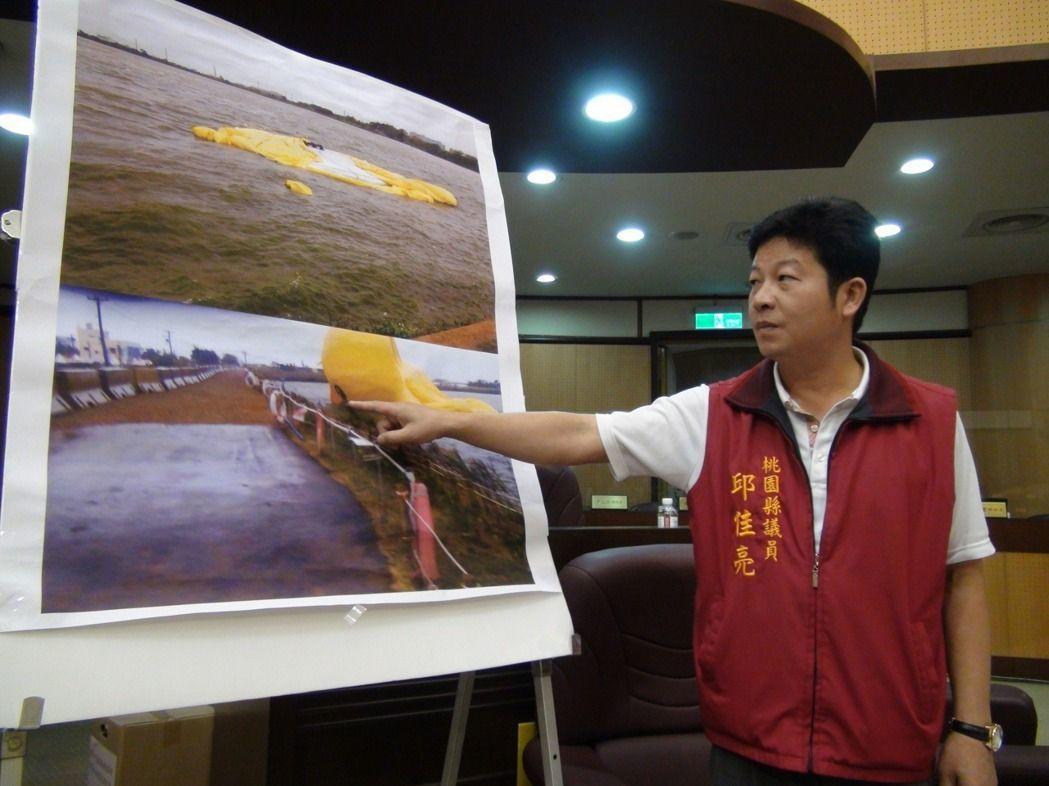 桃園市議員邱佳亮涉嫌詐領助理費724萬元本月遭收押禁見。 圖/報系資料照