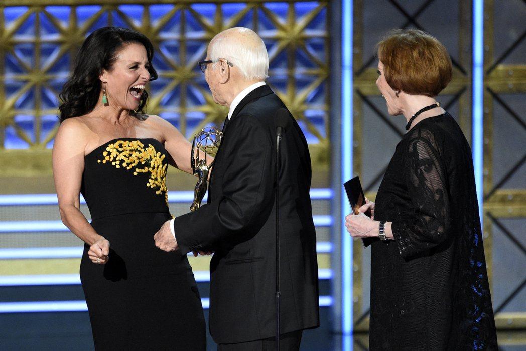 「副人之仁」連續第三年拿下艾美獎最佳喜劇類影集獎。 圖/美聯社