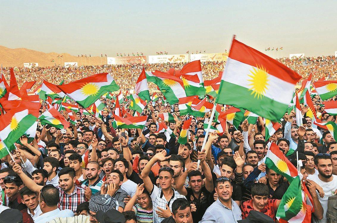 伊拉克北部的庫德斯坦地區決定25日舉辦「庫德族獨立」公投,由於區內包含該國石油重...