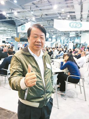 友嘉集團總裁朱志洋。 記者宋健生/攝影