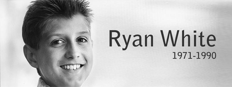 雷恩懷特(Ryan White)。 圖/雷恩懷特官網