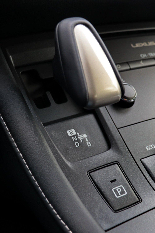 Hybrid ECVT電子控制無段變速系統。 記者陳威任/攝影