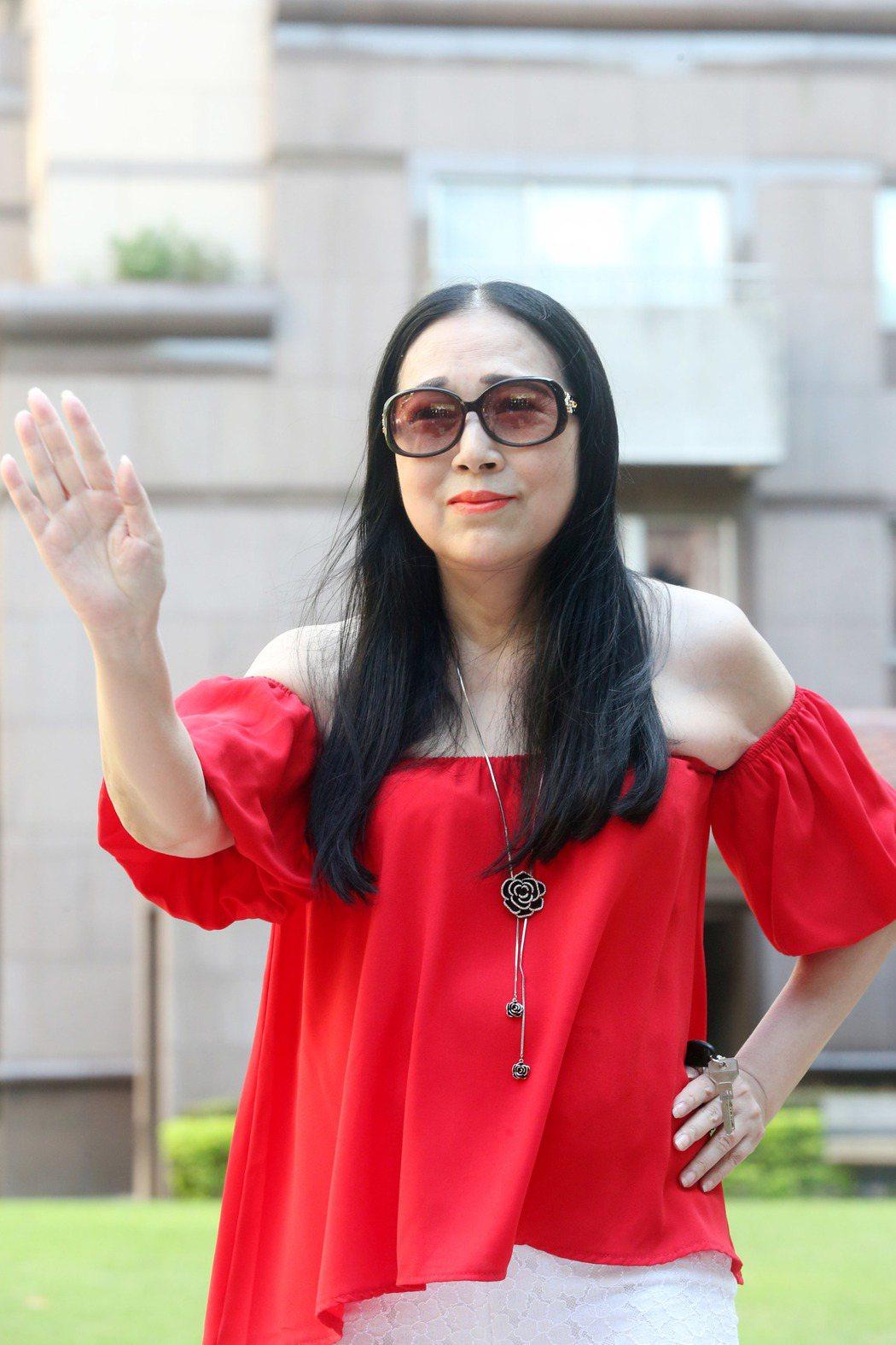 許純美放話要選台北市長。記者邱德祥/攝影