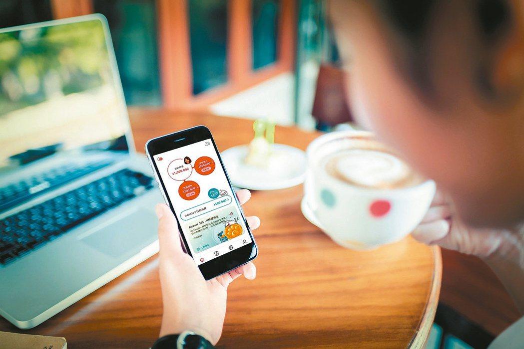 台新銀行Richart數位帳戶推出10元「銅板投資」,過去1年來吸引逾10萬名客...
