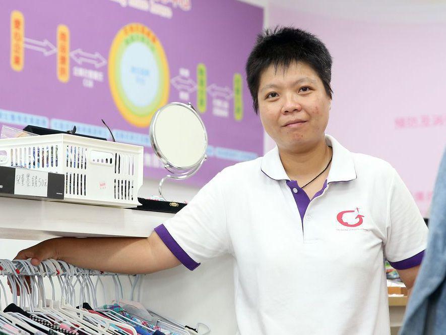 劉柏君獲選「全球運動導師計畫」,將赴美參訪學習一個月,是代表台灣的第二人。 記者...
