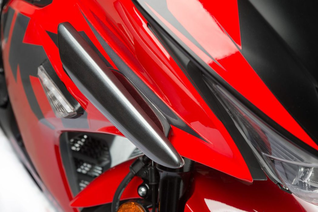 GSX-R150限定定風翼:1,200元。圖/台鈴提供