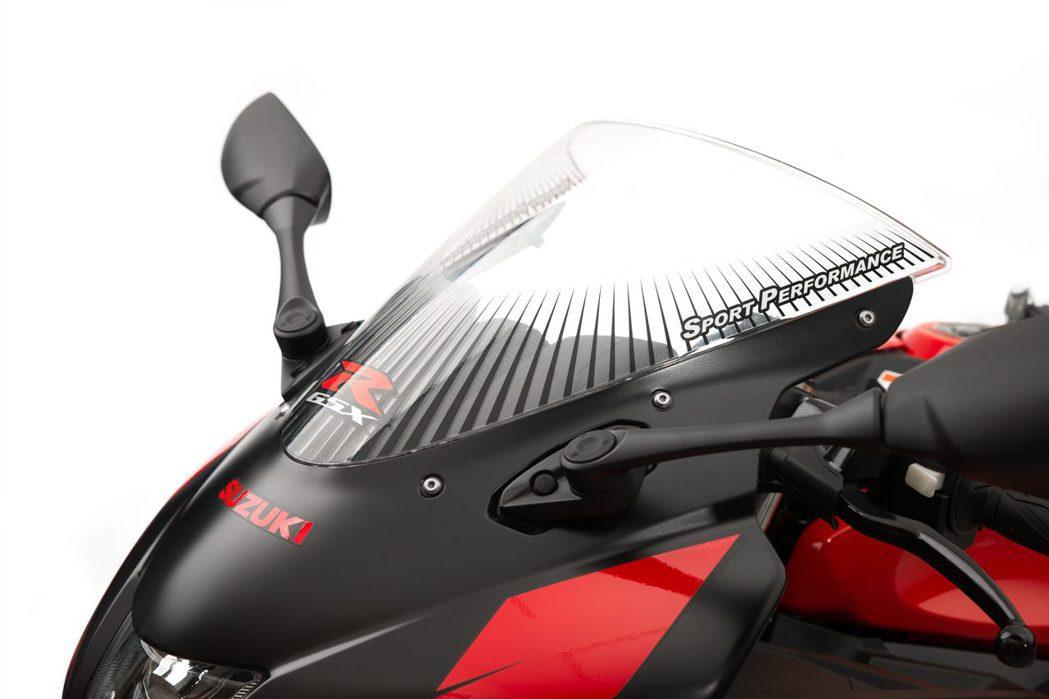 GSX-R150限定風鏡貼紙:300元。圖/台鈴提供
