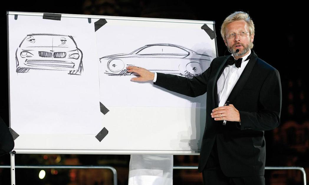 前BMW設計師:Chris Bangle。 摘自BMW