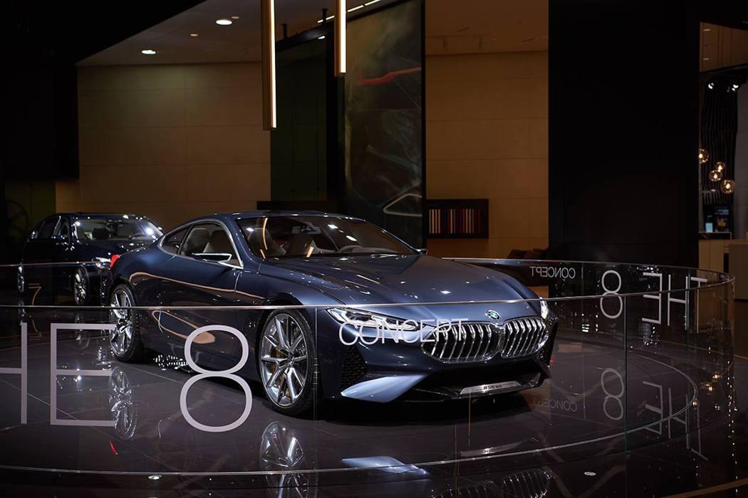 BMW 8-Series Concept。 摘自BMW