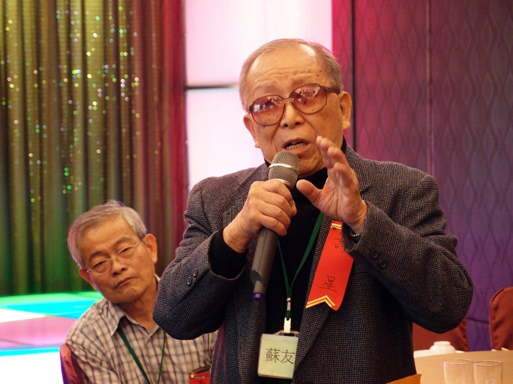 白色恐怖政治受難者,蘇友鵬醫師。 圖/林冠瑜攝