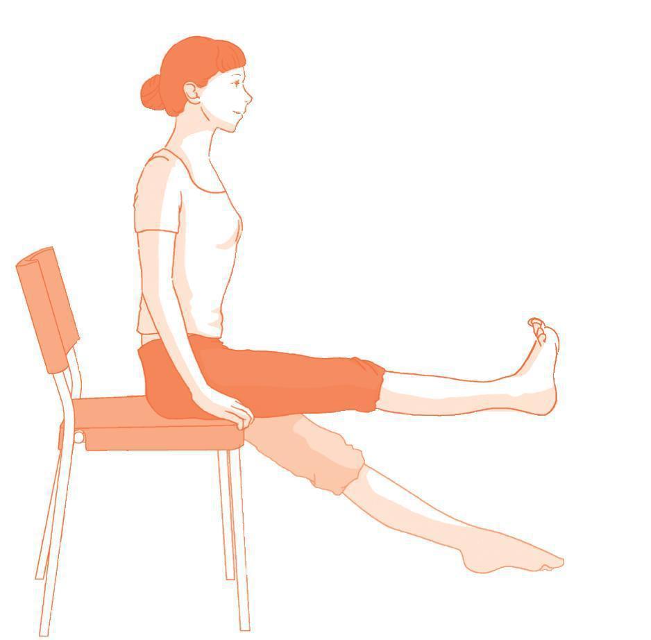 股四頭肌強化運動 圖片提供/【自己的膝蓋自己救】時報出版