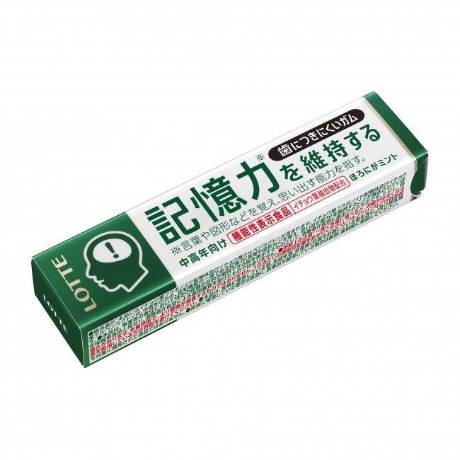 日本樂天推出一款標榜不黏牙,又可維持記憶的口香糖。圖擷自產經新聞(08/30)