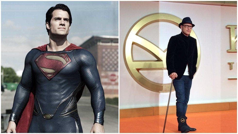 「金牌特務」系列導演馬修范恩(右)親口證實曾洽談過「超人」系列電影。圖/華納兄弟