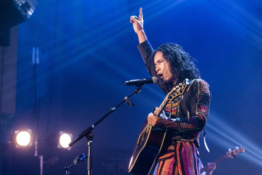金曲歌手巴賴。圖/台視提供