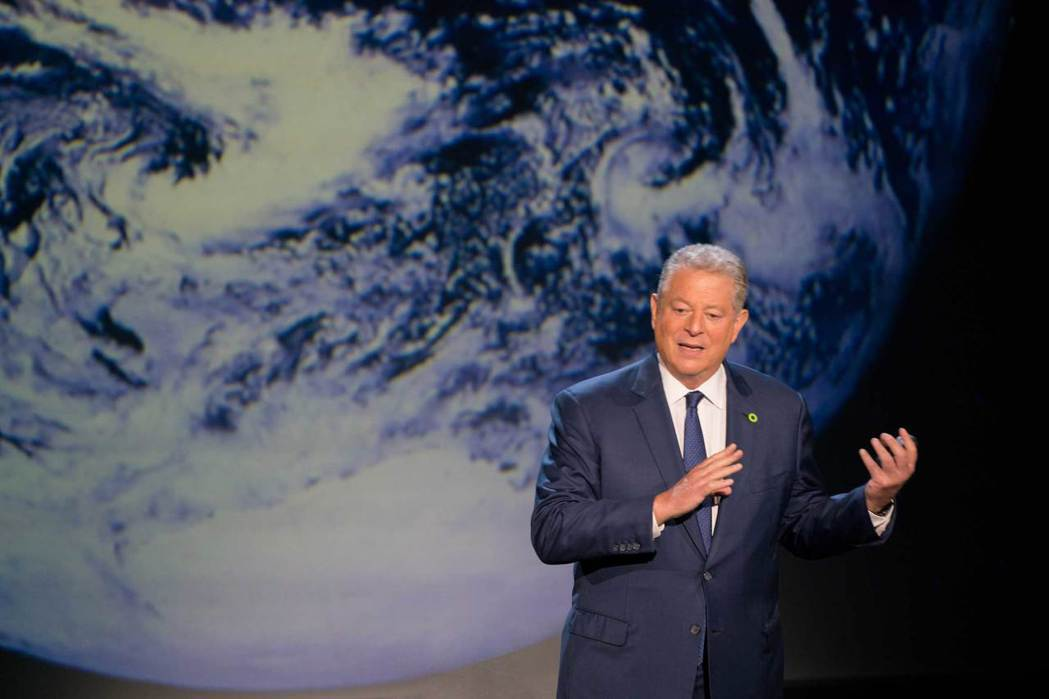 美國前副總統高爾是「不願面對的真相」系列紀錄片的重要推手。圖/UIP提供