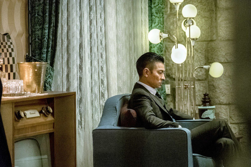 劉德華在「追龍」再次扮演雷洛。圖/華映提供